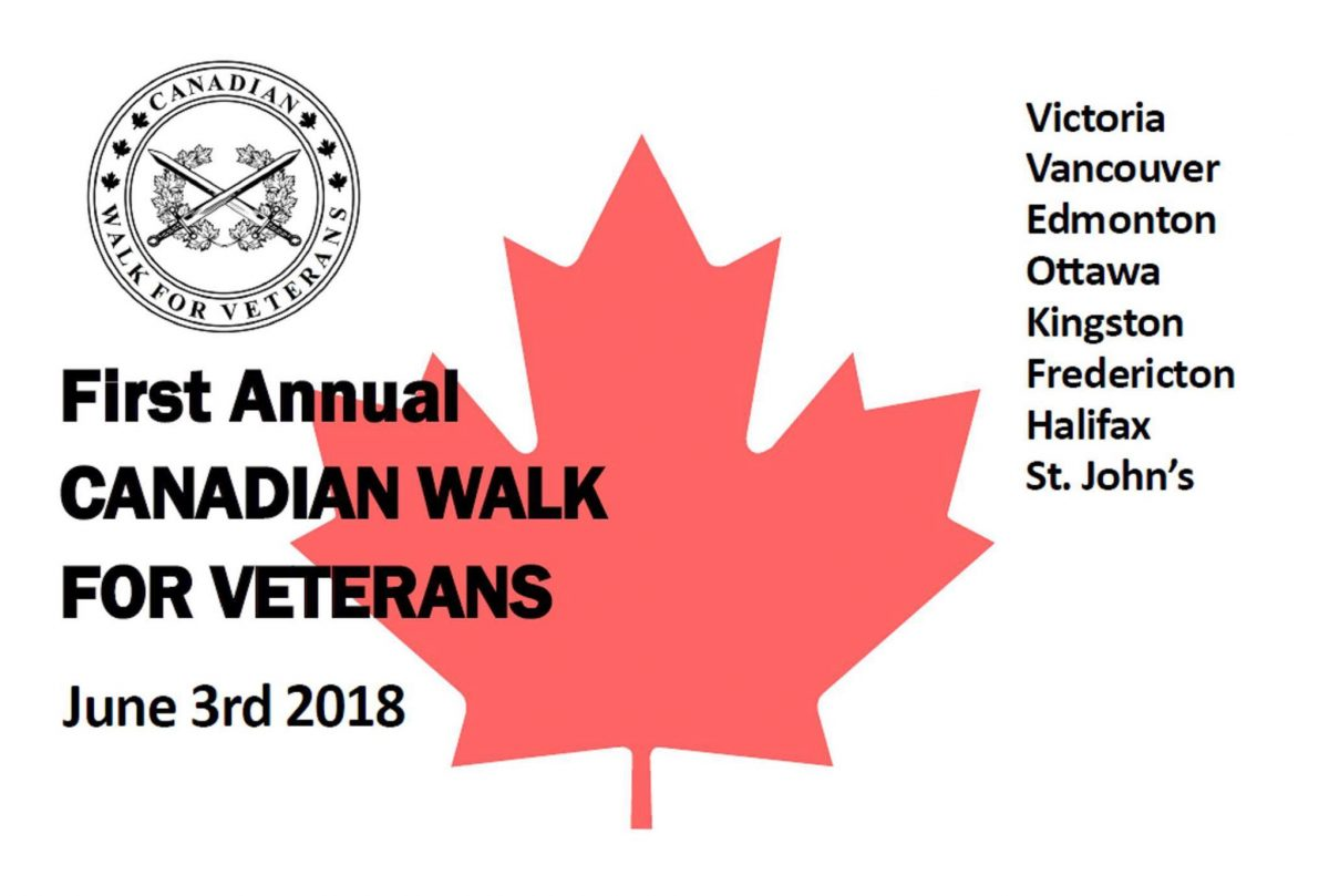 canada walk for veterans
