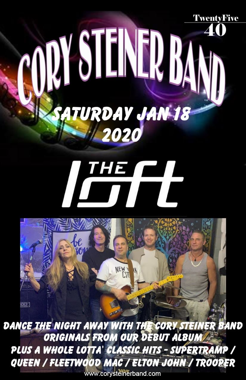 Cory Steiner Band @ The Loft