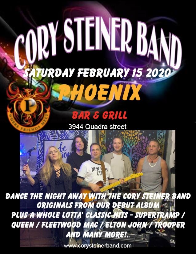 Cory Steiner Band @ Phoenix Bar & Grill
